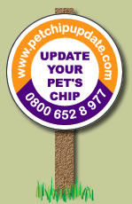 Pet Chip Update Campaign For Pet MicroChips